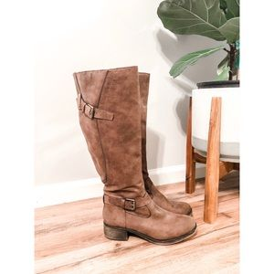 Style & Co Taupe Tall Boots